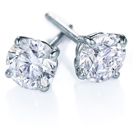 Diamond Studs - 4 Prongs