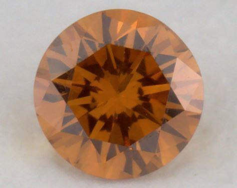 round0.20 Carat fancy deep yellowish orangeSI1