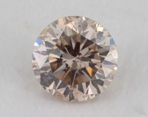 round0.21 Carat light brownI1