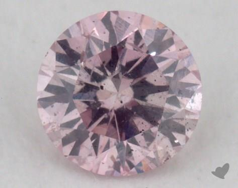 round0.17 Carat fancy purple pink