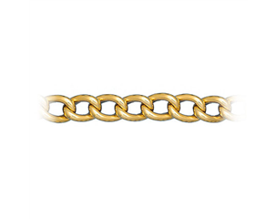 14k Yellow Gold Large Oval Link Bracelet
