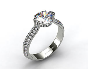 Platinum ME180 by Danhov Designer Engagement Ring