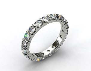 Ladies 1.50ctw* Bar Set Diamond Eternity Ring