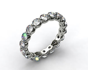 Ladies 1.50ctw* Shared Prong Diamond Eternity Ring