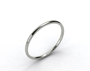 Platinum 2mm Comfort Fit Wedding Ring