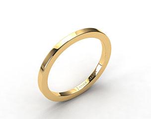 18k Yellow Gold 1.8mm High Polish Wedding Ring