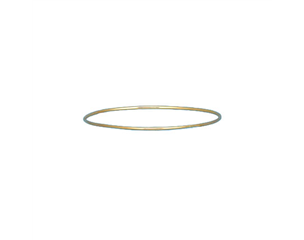 14k Yellow Gold Stacking Bangle