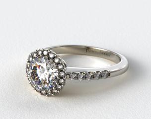 Platinum James Allen Exclusive Engagement Ring